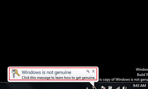 Cara Mengatasi Windows is not Genuine